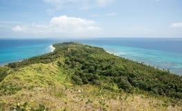 Dravuni ö i färg Arkivfoton