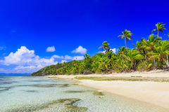 Dravuni Island, Fiji. Royalty Free Stock Images
