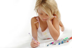 Draw Stock Image