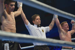 Draw in the boxing match Royalty Free Stock Images