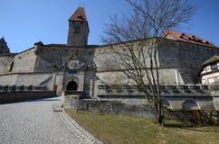 Castle veste coburg Royalty Free Stock Image