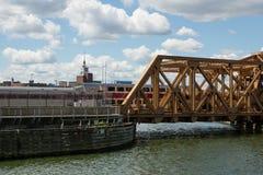 Draw bridge Stock Photography