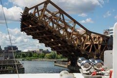 Draw bridge Royalty Free Stock Images