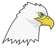 Draw eagle Stock Image