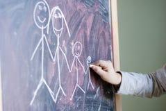 Draw family Stock Photos