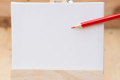 Draw painting canvas empty space for text. Royalty Free Stock Image