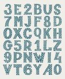 Draw sketch doodle alphabet design Royalty Free Stock Photo