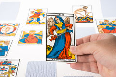 Draw tarot : Temperance Stock Images