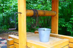Draw-well. Rustic draw-well, see more images on my portfolio Stock Image