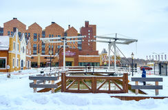 Drawbridge στο Κίεβο Στοκ εικόνες με δικαίωμα ελεύθερης χρήσης