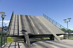 drawbridge Royaltyfri Foto