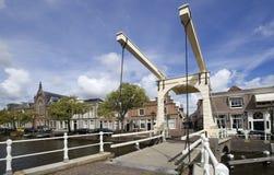 Drawbridge in Alkmaar, Holland Stock Images