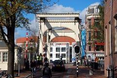 Drawbridge in Amsterdam Royalty Free Stock Photography