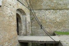 Drawbridge Chain Fotografie Stock