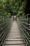 Drawbridge im Park Stockfotos