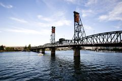 Drawbridge in Portland Stock Photography