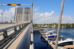 Drawbridge, South Florida Royalty Free Stock Photography