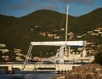 Drawbridge in St. Maarten Royalty Free Stock Photo
