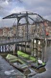 Drawbridge w Holandia Zdjęcie Royalty Free