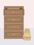 Drawer Royalty Free Stock Photo
