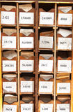 Drawer with business papers Stock Photos