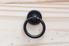 Drawer front with drawer handle Royalty Free Stock Image