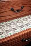 Drawer full of Money Royalty Free Stock Photos