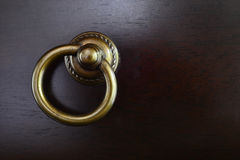 Drawer handle Royalty Free Stock Images