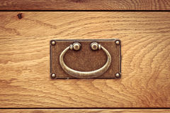 Drawer handle Royalty Free Stock Image