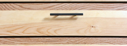 Drawer and handle Royalty Free Stock Photo