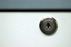 Drawer Lock. A drawer lock stock photos