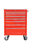 Drawer Mobile Tools Cabinet - isolated Stock Images