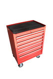 Drawer Mobile Tools Cabinet - isolated Royalty Free Stock Image