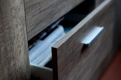 A drawer Stock Images