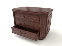 Drawer open Royalty Free Stock Photography