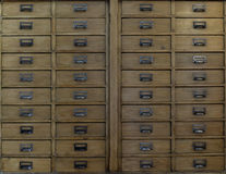 Drawers Stock Image
