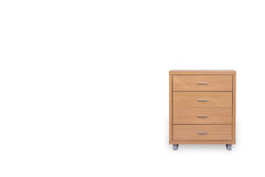 Drawers isolated on white background. Drawers isolated on white background and space for copy Stock Images