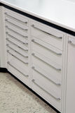 Drawers in medical office Stock Images