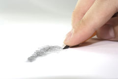 Drawing Royalty Free Stock Image