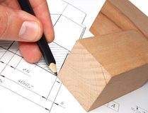 Drawing. Constructing of model. Development of draft. Excellent quality royalty free stock photo