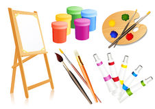 Drawing accessories Royalty Free Stock Photography