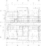 Drawing of apartment building Royalty Free Stock Images