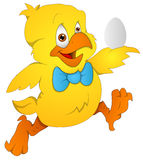 Cute Chicken - Cartoon Character - Vector Illustration Royalty Free Stock Photo