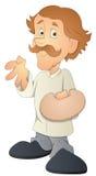Man - Cartoon Character - Vector Illustration Royalty Free Stock Photography