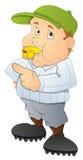 Baseball Referee - Cartoon Character - Vector Illustration Royalty Free Stock Photo