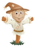 Scarecrow - Cartoon Character - Vector Illustration Royalty Free Stock Photo
