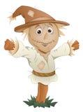 Scarecrow - Cartoon Character - Vector Illustration Royalty Free Stock Photo
