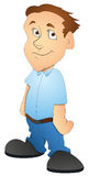 Boy - Cartoon Character- Vector Illustration Stock Photography