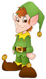 Christmas Elves - Cartoon Character - Vector Illustration Stock Photography