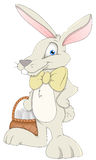 Easter Hare - Cartoon Character- Vector Illustration Royalty Free Stock Photos